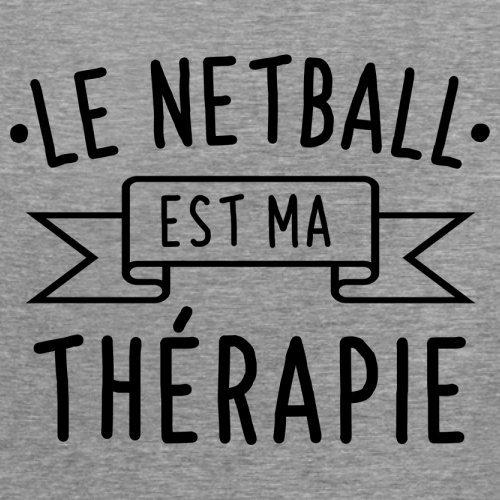 Le netball est ma thérapie - Femme T-Shirt - 14 couleur Gris