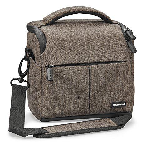 Cullmann 90301Malaga–Vario 400Kamera Tasche mit Tragegurt–Braun