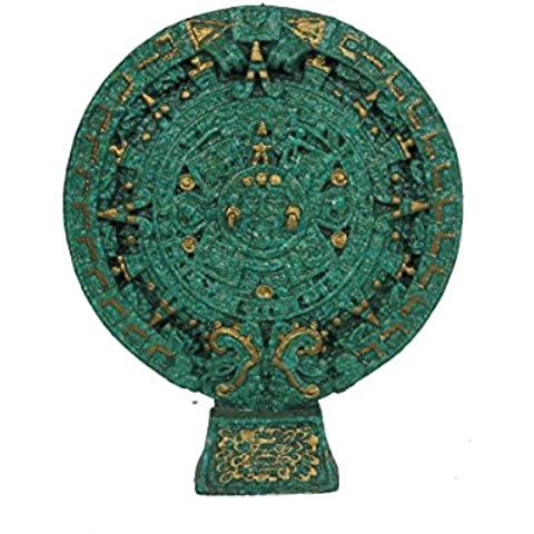 Discount Etnico CALENDARIO MAYA CON BASE D18X22 CM. - Calendario Maya