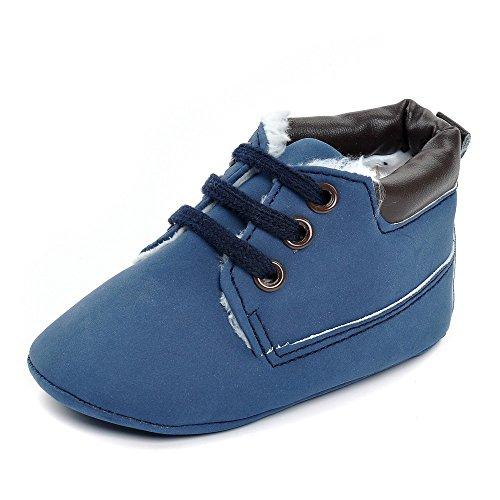 ESTAMICO, Stivaletti bambini Blu Blue 6-12 mesi