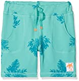 NAME IT Baby-Jungen Shorts NMMDECTUS SWE Long UNB, Mehrfarbig (Pool Blue), 104