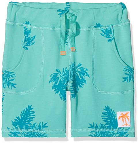 NAME IT Baby-Jungen Nmmdectus SWE Long Shorts UNB, Mehrfarbig (Pool Blue), 98