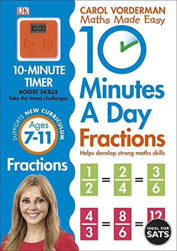 10 Minutes A Day. Fractions. Ages 7-11 (Made Easy Workbooks)