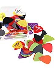 Alice Guitar Picks - 20pcs Mix set of Alice Pick 0.58mm/0.71mm/0.81mm/0.96mm/1.20mm/1.50mm Guitar Picks Plectrums. Guitar Pick
