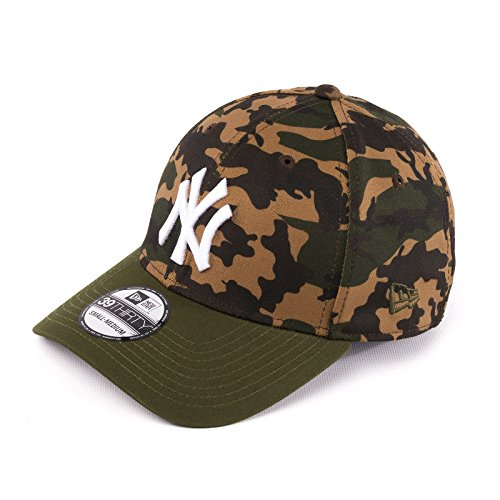 New Era Era Camo Stretch NY Yankees Cap, Herren, Grün, M/L (Golf York Yankees New)