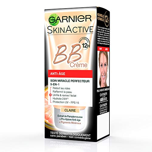 Garnier BB Cream Anti Ageing Light Tinted Moisturiser 50ml
