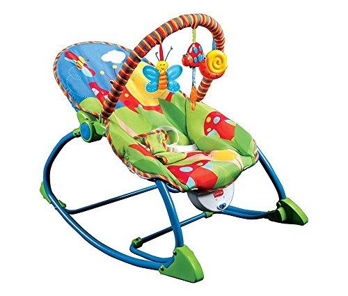 LuvLap Butterfly Toddler Rocker