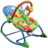 LuvLap Butterfly Newborn to Toddler Portable Rocker cum Bouncer