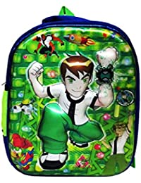 Ben 10, 3D School Bag Waterproof Blue,Green/multcolor Eh155