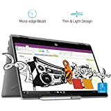 HP Pavilion X360 14-cd0055TX 2018 14-inch Laptop (8th Gen Intel Core I7-8550U/1TB/Windows 10 Home/Integrated Graphics), Mineral Silver