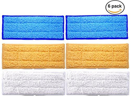 FollowHeart Waschbare Wischpads für iRobot Braava Jet 240 241 (6pcs)