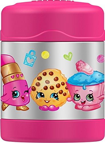 Thermos FUNtainer 10 Ounce Food Jar, 10 UNZEN Shopkins Funtainer 10 Oz Food Jar