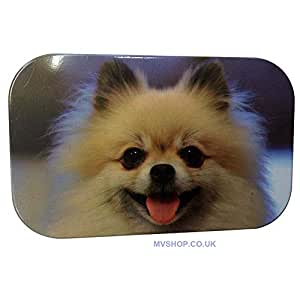 LATEST CUTE PUPPY FACE DESIGN TOBACCO TIN-BY MVSHOP LTD.