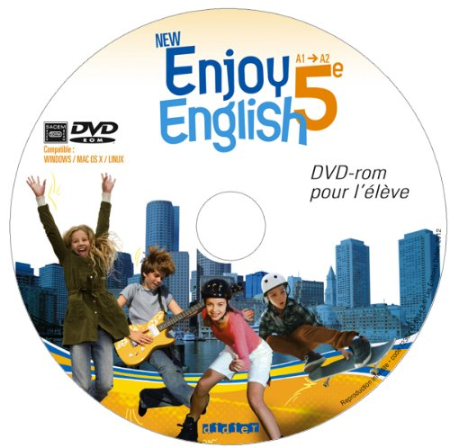 New Enjoy English 5e - DVD-rom lve de remplacement