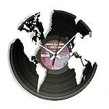 Disc'o'Clock Orologio in Vinile World