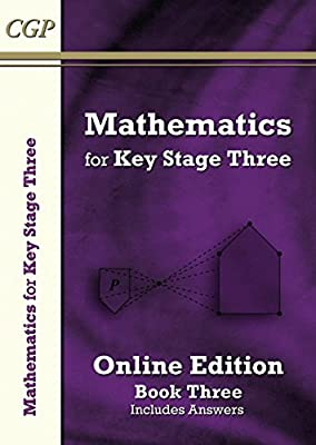 KS3 Maths Textbook 3: Student Online Edition (with answers) (CGP KS3 Maths) by Coordination Group Publications Ltd (CGP)