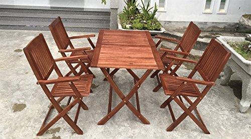 Sitzgruppe PEARL Sitzgarnitur Holz Gartenset Gartengarnitur Gartenmöbel Tisch FSC ZERTIFIZIERT MASSIVE AKAZIE