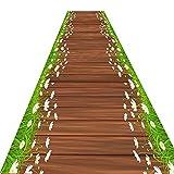 Tapis MeiHao Corridor Runner-up Tapis Corridor Aisle Carpet Mix Slip Jacquard Slip,...