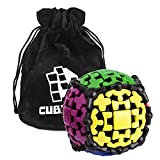 Zauberwürfel - Gear Ball - Gearball (Zahnrad-Drehball) - inkl. Cubikon-Tasche