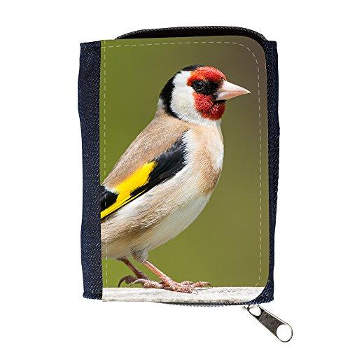 Portemonnaie Geldbörse Brieftasche // F00021904 Tricoloured Finch Vogel // Purse Wallet (Vogel Finch)