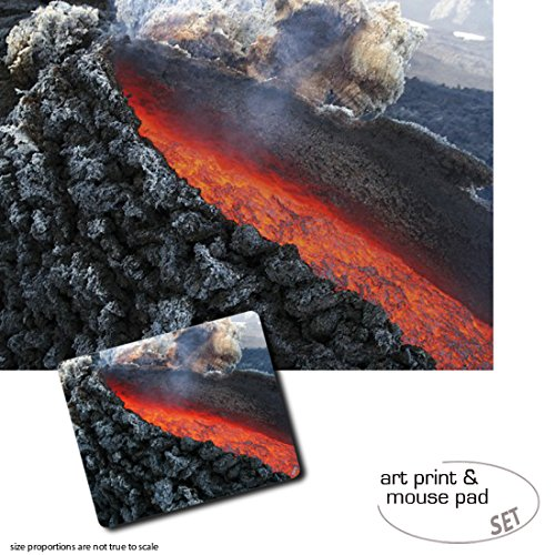 set-regalo-1-poster-impresion-artistica-80x60-cm-1-alfombrilla-para-raton-23x19-cm-volcanes-erupcion
