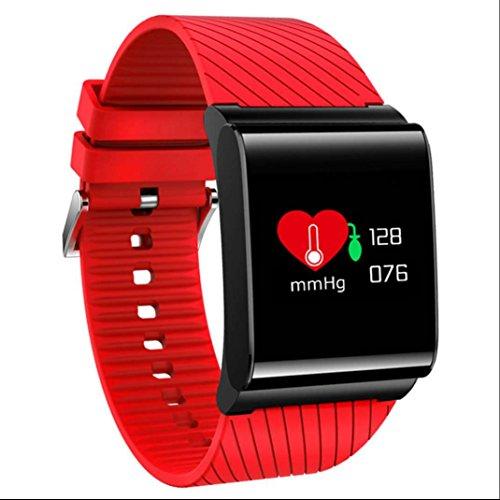 Fitness Tracker Sport Armbanduhr Armband Smart Bracelet Schlafüberwachung Pedometer Fitness Tracker täglich wasserdicht mit Distanz Datum und Uhrzeit Aktivitätstracker für Android und IOS