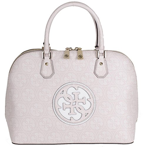 Guess Carly Dome Satchel VG621107 Damentasche 35,5x27x16,5cm cement (Dome Handtasche Satchel)