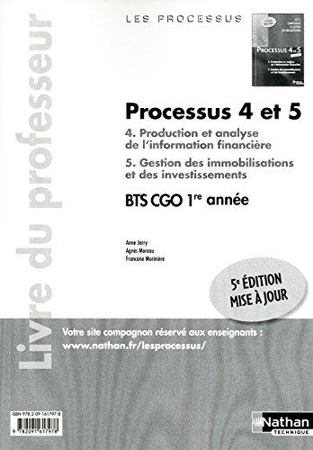 PROCESSUS 4/5 BTS 1 CGO PROF par ANNE JARRY