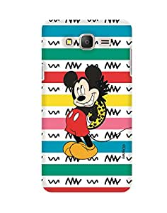 Pick Pattern with Exclusive DISNEY Characters Back Cover for Samsung Galaxy On7