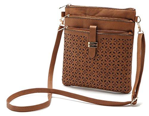 Keshi neuer Stil Damen Handtaschen, Hobo-Bags, Schultertaschen, Beutel, Beuteltaschen, Trend-Bags, Velours, Veloursleder, Wildleder, Tasche Weiß