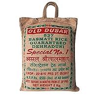 SHRILALMAHAL Basmati Rice, Old Dubar 527 Special No. 1, 5 Kg