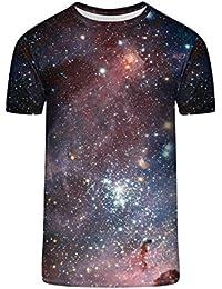 TrendClub100 Guru Shirt Weltraum Weltall Sternenhimmel