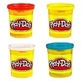 Play-Doh Packung mit 4 Tubs- Weltberühmt Spielen Doh! Lassen Sie Ihrer Fantasie Freien Lauf!