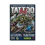 Drachen Bild: Tattoo Convention, Drachen Poster, Asiatischer Drache, Japanische Kunst, Asiatische Kunst, Japanischer Drache, Drache, Fantasy Bild, Artprint, Tattoo