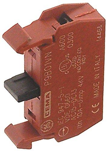 GE GENERAL ELECTRIC P9B01VN Kontaktblock für Comenda NE7502, NE9502, NE5502, NE4002, NE3002, Alimacchine NT40, NT20, NT30, NT50