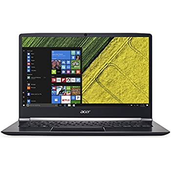 """Acer Swift 5 SF514-51-55UF Notebook, 14"""" FHD, Intel Core I5-7200U, RAM 8 GB LP DDR3, SSD 256 GB, Intel HD, Grigio"""
