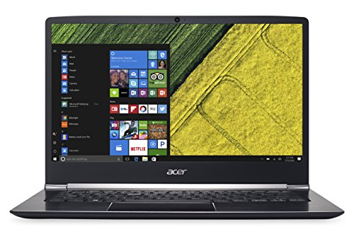 "Acer Swift 5 SF514-51-79EX Notebook, 14"", Intel Core I7-7500U, RAM 8 GB LP DDR3, SSD 512 GB, Nero"