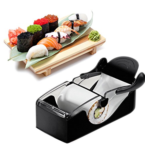 Moldes para Hacer Sushi DIY ❣ Desmontable para una fácil operación y limpieza. ❣ Fácilmente Utilizados por profesionales y principiantes. ❣ Disfruta de la diversión de DIY, crea elegantes rollos de sushi en casa. ❣ Preparación de sushi y otras com...