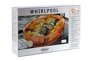 Whirlpool STM001 Plat Vapeur Ovale pour MO Jet Chef JT356 et JT359 2,5 L