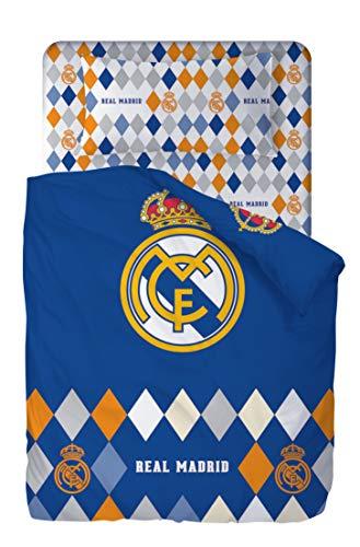 Real Madrid Juego De Sabanas de 3 Piezas 160x270 + 90x200/25 + 45x110