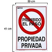 WOLFPACK 15051285 - Cartel Propiedad Privada 41x30 cm