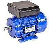 Pro-Lift-Werkzeuge 1-Phasen Drehstrommotor 1,1 kW 230 V Elektromotor 2810 U/min Industriemotor electric motor B3 Drehstrom 1100W