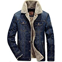 pretty nice 01c7b 8b128 giubbotto jeans imbottito - Amazon.it