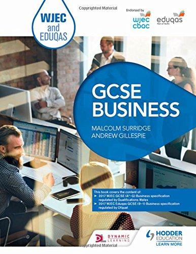 WJEC and Eduqas GCSE Business
