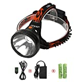 Neolight Rechargeable LED Head Torch, Super Bright CREE LED Headlamp, Waterproof 4 Modes Head Lights for Outdoor Running, Walking, Camping, Reading, Hiking, Fishing, Hunting, Cycling