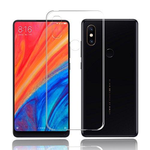 Cover Xiaomi Mi Mix 2s Custodia Xiaomi Mi Mix 2s TopACE Custodia Puro Trasparente Morbida TPU Silicone Ultra Sottile Case per Xiaomi Mi Mix 2s (Trasparente)