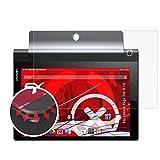 atFolix Schutzfolie passend für Lenovo Yoga Tab 3 10 Folie, entspiegelnde und Flexible FX Displayschutzfolie (2X)