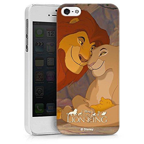 Apple iPhone 7 Plus Hülle Case Handyhülle Disney König der Löwen Fanartikel Merchandise Hard Case weiß