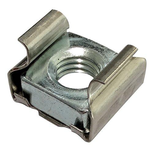 Preisvergleich Produktbild Aerzetix: 10x Käfigmutter M8 L16mm für Blech 1.8-3.2mm C19140