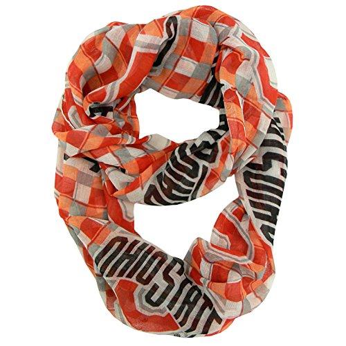 Littlearth NCAA Infinity Schal, damen, 100615-OHSU-PLD, plaid, Einheitsgröße